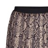 Co'couture nederdel - Snake Plisse Skirt, Camel